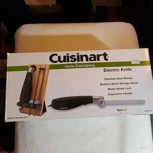 Cuisinart home entertaining electric knife